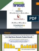 2015 Cayuga County Economic Forecast Presentation
