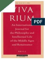 Vivarium - Vol Xliii, No 2, 2005