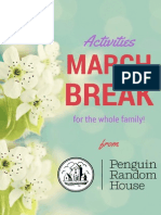March Break Activity Booklet From Random House of Canada