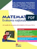 Evaluare Nationala 2014 - Editura CABA