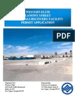 Western Elite Lamont St. MRF Pemit Application.pdf
