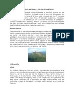 Recursos Naturales de Centroamérica