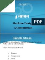 Machine Design presentation