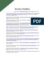 Santos, Boaventura de Sousa - Artigos Publicados Em Revistas Científicas