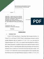 Square Ring, Inc. v. John Doe-1, et al., C.A. No. 09-563-GMS (D. Del. Jan. 23, 2015).