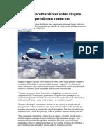Verdades Inconvenientes Sobre Viagens de Aviões Que Não Nos Contaram