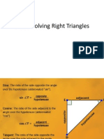 2 2 notes on solving right triangles