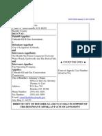 City of Boulder-Longmont-Amicus Brief