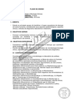 Plano de Ensino 5º - Microbiologia e Micologia - DocumentoConteudoProgramatico