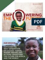 Asante Africa Foundation 2013 AnnualReport