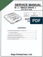 Manual de Servicio Sega