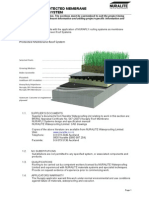 NURAPLY 3PG Protected Membrane Green Roof System