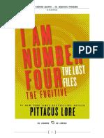 Os Arquivos Perdidos 10- O Fugitivo