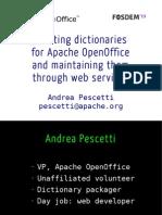 Apache Openoffice Pescetti