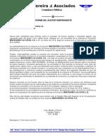 Informe Inventario La Costa, c.A
