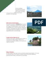 10 Lugares Turisticos de Guatemala