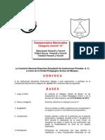 Convocatoria Nacional Conadeip 2015 Cat-Juv-A-1