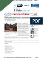 Ranking de Universidades de America Latina PUCCH-y-Valle