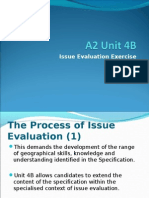 Issue Evaluation Exercise