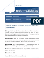 net-music WorkshopInfo 2010