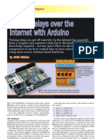Arduino Internet Control Using the Arduino Ethernet Shield