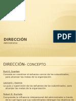 Direccion-Etapa de la Planeacion