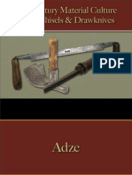 Tools - Adze, Chisels & Drawknives