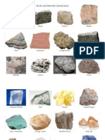 Rock and Mineral Examples