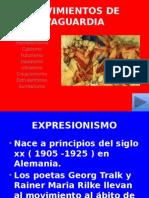 movimientos de vanguardia expresionismo educación secundaria.