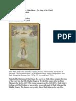 PSA Shah Jahan- Hist 252