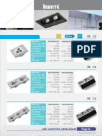 Catalogue LED INWATE