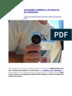 Derechos del consumidor relativos a la toma de fotos y videos en comercios