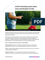 Growth Hack 14 Parenting Lessons About Punishment and Discipline for Kids