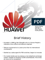 Huawei Growth strategy