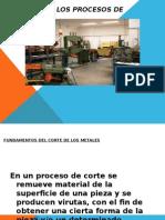panorama de los procesos de manufactura