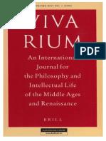 Vivarium - Vol Xlvi, No 1, 2008