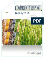 Daily Ncdex Report 30-1-2015