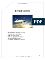 Aviation Insurance in India 航空保险在印度