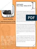 Harold Macmillan - Inspirational Speech for kids  – Mocomi.com