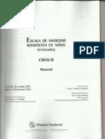 Normas del CMAS-R (1)