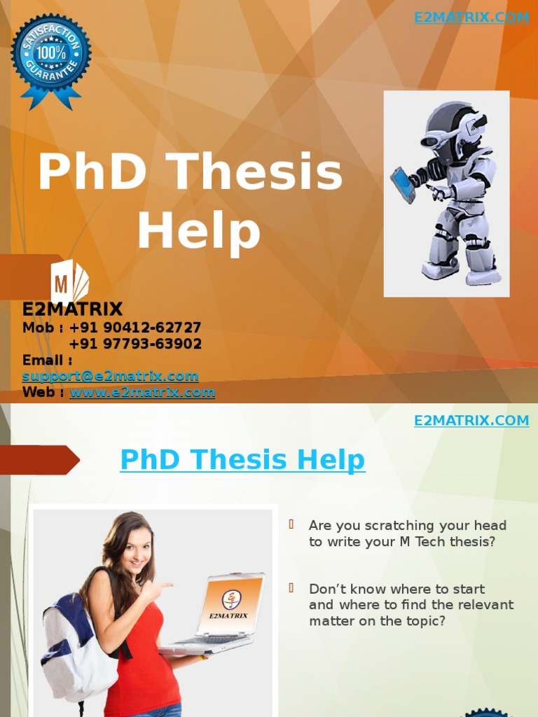 PhD Thesis on Cloud Computing - PHD Services