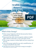 renewable energysource