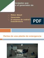plantas de energia de Emergencia