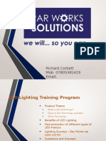 LED Lighting Presentation