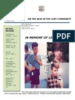 LGBT Newsletter for Leelah