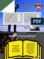 Mgmt E-5070 Student Slides Forecasting Overview