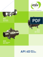 MIR VALVE API 6D Ball Valve Catalogue Rev2 Feb. 2014