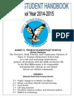 hstes student-parent handbook 2015
