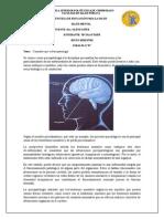 Psicopatología de Salud Mental