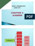 Chapter 3 Alkenes(1)